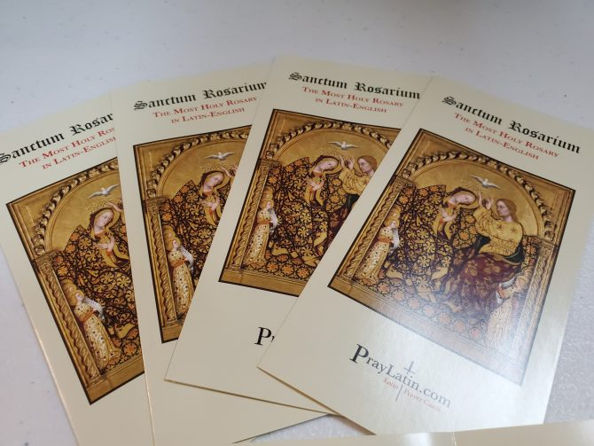 Rosary Pamphlet